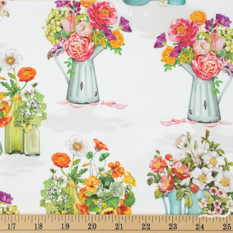 Robert Kaufman, Everyday Favorites, Pitcher Bouquets Blossom