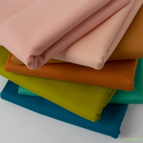 Robert Kaufman, Kona Cotton Solids, Juice Bar in HALF YARDS 7 Total