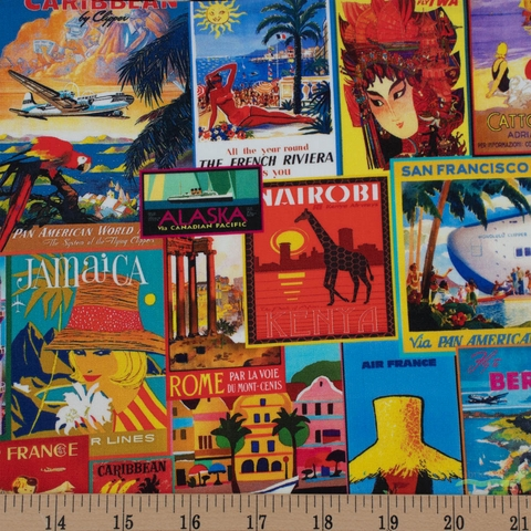 Robert Kaufman, Library Of Rarities, Travel Posters Adventure