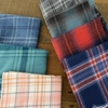 Robert Kaufman, Mammoth Flannel, Static Plaid Pacific