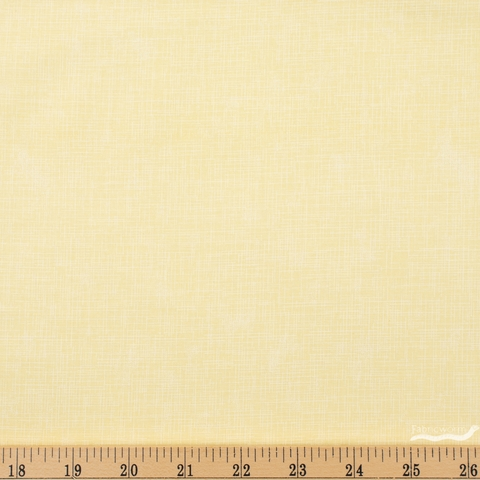 Robert Kaufman, Quilter's Linen, Lemon Fat Quarter