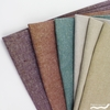 Robert Kaufman, Yarn-Dyed Essex Metallic, LINEN, Shine On in FAT QUARTERS 5 Total (PRECUT)