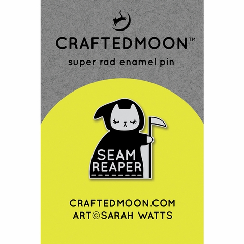 Ruby Star Society Merch, Sarah Watts Seam Reaper Enamel Pin