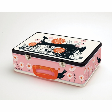 PREORDER NOW, Ruby Star Society Merch, Tin Lunch Box by Sarah Watts