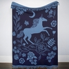 AVAILABLE FOR PREORDER, Ruby Star Society Merch, Unicron Throw by Sarah Watts