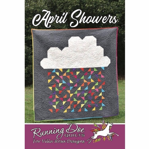 Running Doe Quilts, Sewing Pattern, April Showers Quilt
