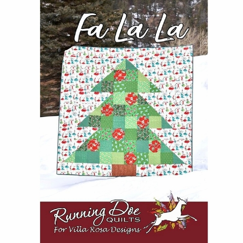 Running Doe Quilts, Sewing Pattern, FaLaLa Quilt