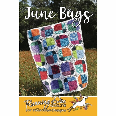 Running Doe Quilts, Sewing Pattern, June Bugs Quilt