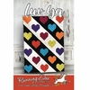 Running Doe Quilts, Sewing Pattern, Luv Ya Quilt