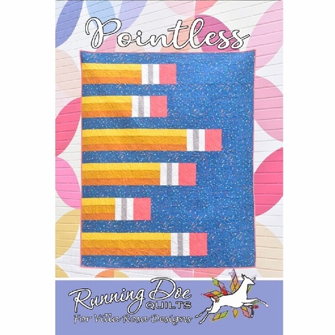 Running Doe Quilts, Sewing Pattern, Pointless Quilt