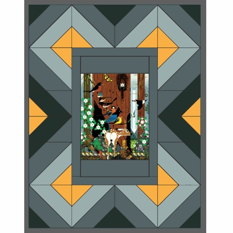 Running Doe Quilts, Sewing Pattern, Red River Quilt