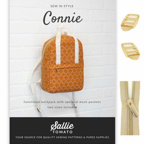Sallie Tomato, Connie Backpack Kit