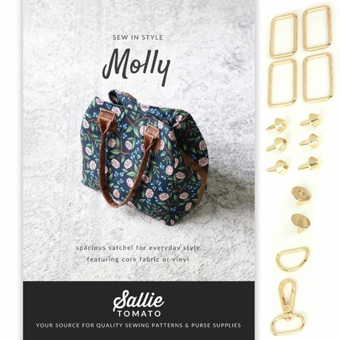 Sallie Tomato, Molly Satchel Bag Kit