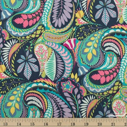 Sally Kelly for Windham, Solstice, Prince Paisley Multi