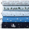 Sandra Clemons for Michael Miller, Curiosity, Breeze in FAT QUARTERS 5 Total (PRECUT)