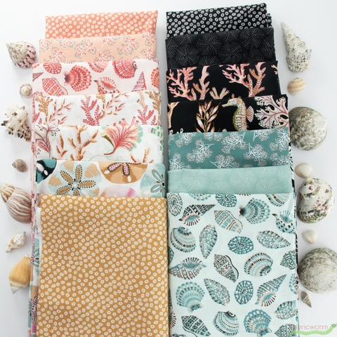 Sarah Gordon for FIGO, Sea Botanica, Barnacles Coral