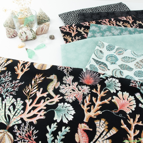 Sarah Gordon for FIGO, Sea Botanica, Night Reef Bundle 7 Total