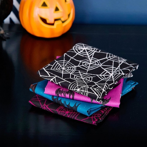 """Sarah Watts for Ruby Star Society, Candy Please, Bat Webs Fat Quarter Panel (36"""" x 44"""")"""