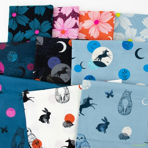 Sarah Watts for Ruby Star Society, Crescent, Prints in FAT QUARTERS 10 Total