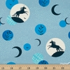 Sarah Watts for Ruby Star Society, Crescent, Unicorn Moon Soft Blue