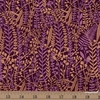 Sasha Ignatiadou for Ruby Star Society, Airflow, Floral Tapis Metallic Purple Velvet