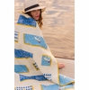 Sea Feed Quilt Kit Featuring Maritime