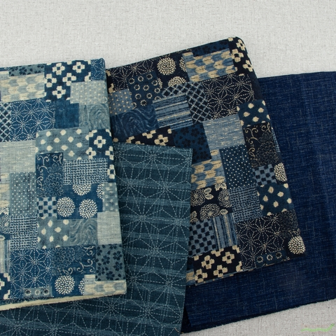 Sevenberry for Robert Kaufman, Nara Homespun, Textured Indigo