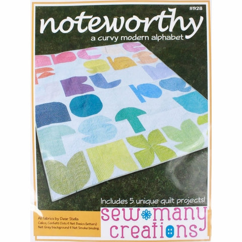Sew Many Creations, Sewing Pattern, Noteworthy Quilt