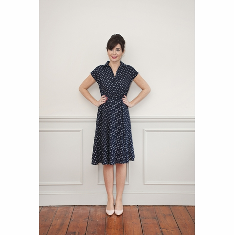 Sew Over It, Sewing Patterns, Penny Dress