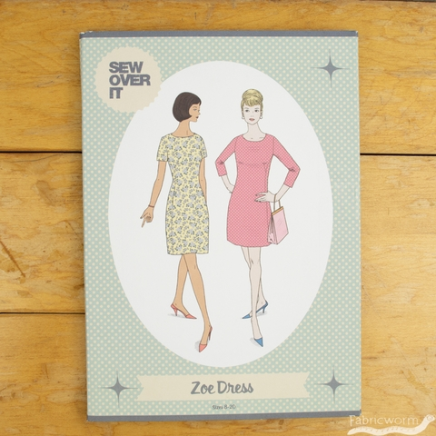 Sew Over It, Sewing Patterns,  Zoe Dress