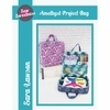 Sew Sweetness, Sewing Pattern, Amethyst Project Bag