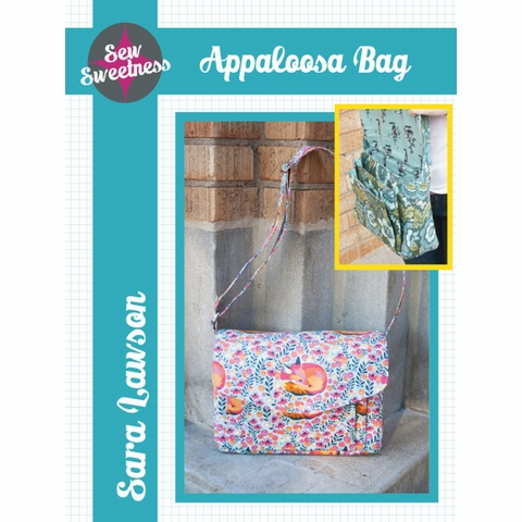 Sew Sweetness, Sewing Pattern, Appaloosa Bag