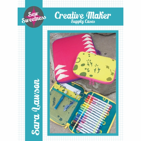 Sew Sweetness, Sewing Pattern, Creative Maker Supply Cases
