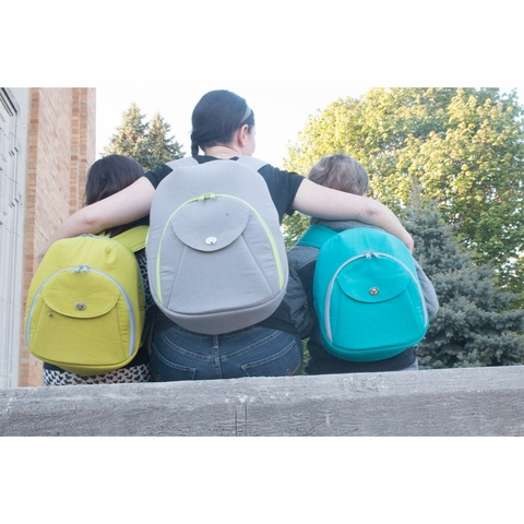 Sew Sweetness, Sewing Pattern, Cumberland Backpack