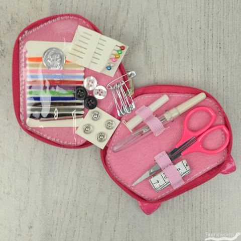 Sew Tasty, Fox Sewing Kit Pink