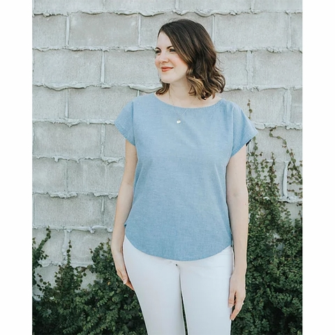 Sew To Grow, Sewing Pattern, Bondi Top
