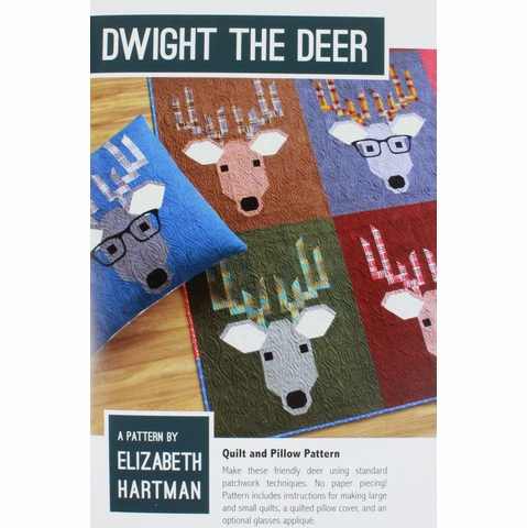 Sewing Pattern, Elizabeth Hartman, Dwight the Deer