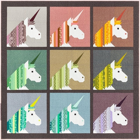 Sewing Pattern, Elizabeth Hartman, Lisa The Unicorn