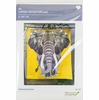 Sewing Pattern, Violet Craft, Elephant Abstractions Fall Textures Quilt Kit