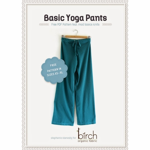 Sewing Tutorial|Basic Yoga Pants by The Crafty Kitty
