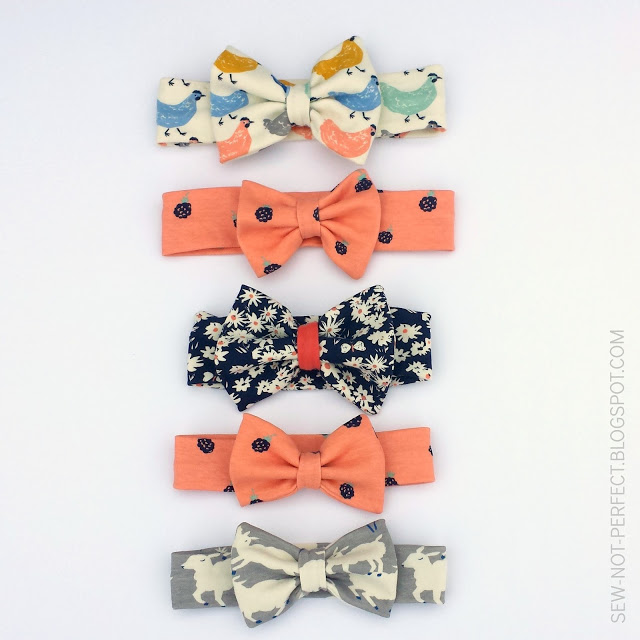 Sewing Tutorial Bow Headband Tutorial By Sew Not Perfect