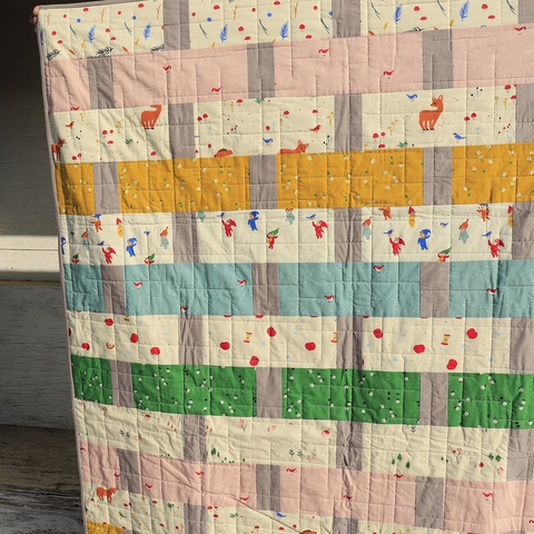 Sewing Tutorial & Free Pattern | Apple Basket Quilt from Birch Fabrics