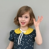 Sewing Tutorial & Free Pattern|Detached Peter Pan Collar by StraightGrain