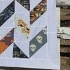 Sewing Tutorial & Free Pattern | Halfway There Quilt by Sew Brainy Designs