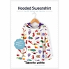 Sewing Tutorial & Free Pattern|Hooded Sweatshirt by The Crafty Kitty