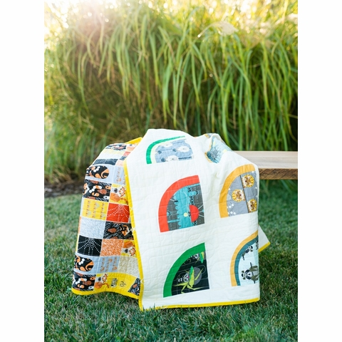 Sewing Tutorial & Free Pattern | Mod Melons by Suzy Quilts