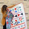 Sewing Tutorial & Free Pattern | Through the Looking Glass Quilt by Suzy Williams