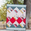 Sewing Tutorial & Free Pattern | Waffle Cone Quilt By Suzy Quilts For Birch Fabrics