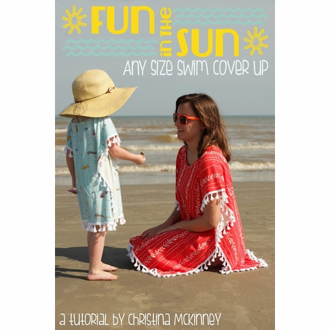 Sewing Tutorial|Fun In The Sun Swim Cover Up by Christina McKinney