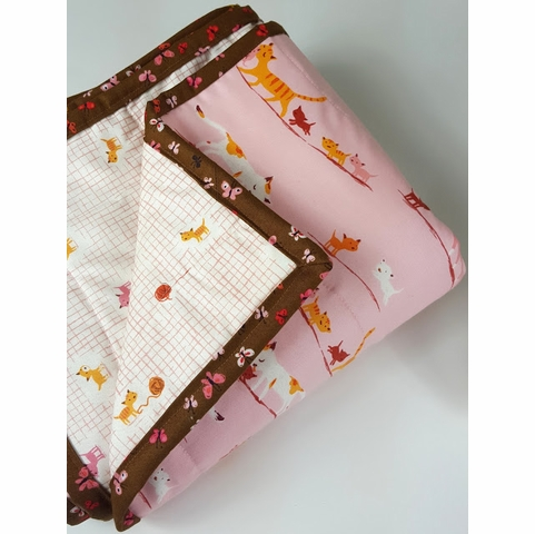 Sewing Tutorial & Free Pattern | 2 Hour Whole Cloth Quilt by Melissa Bailey